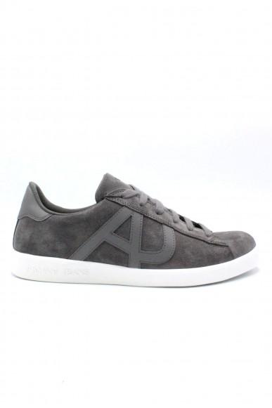 Armani jeans Sneakers F.gomma 40-45 Uomo Grigio Casual