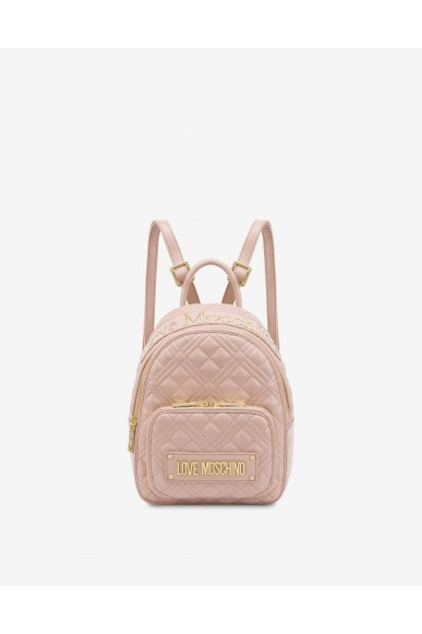 Moschino Backpacks   Borsa quilted nappa pu rosa Donna Rosa Fashion