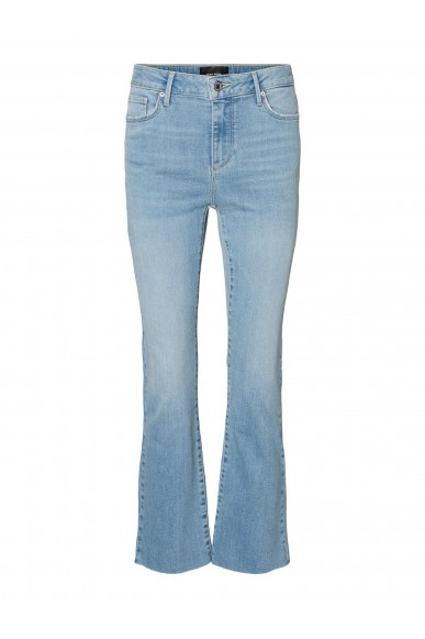 Vero moda Jeans   Vmsheila mr kick flare jeans ba3121 Donna Blu Fashion