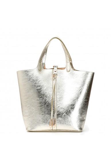 Cafe' noir Borse   Shopping doubleface Donna Platino Fashion