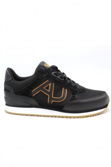 Armani jeans Sneakers F.gomma 6.5-10.5 Uomo Nero Casual