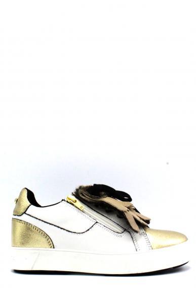 Ape pazza Sneakers F.gomma 36-41 ruth Donna Bianco-oro Casual