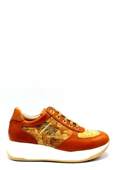 1^classe  Sneakers F.gomma 35/40 Donna Cuoio-beige Fashion