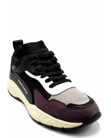 Crime london Sneakers F.gomma Uomo Bordo' Fashion
