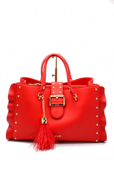 Liu.jo Borse - M satchel melrose Donna Rosso Fashion