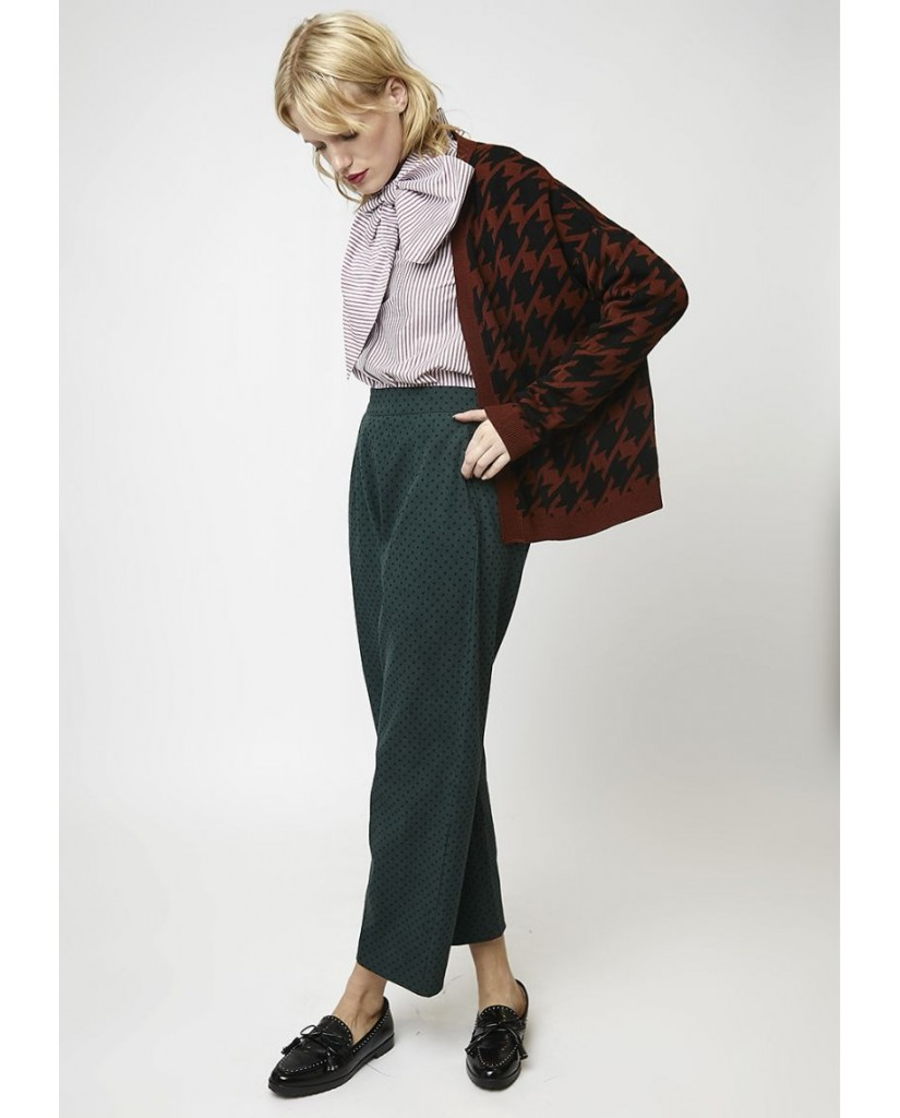Compagnia fantastica Cardigan   Cardigan oversize marrone pied-de-p Donna Fantasia Fashion
