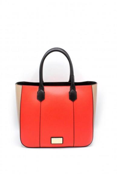 Emporio armani Borse - Tote bag cornflower y3d089 yh21a Donna Corallo/beige/nero Fashion