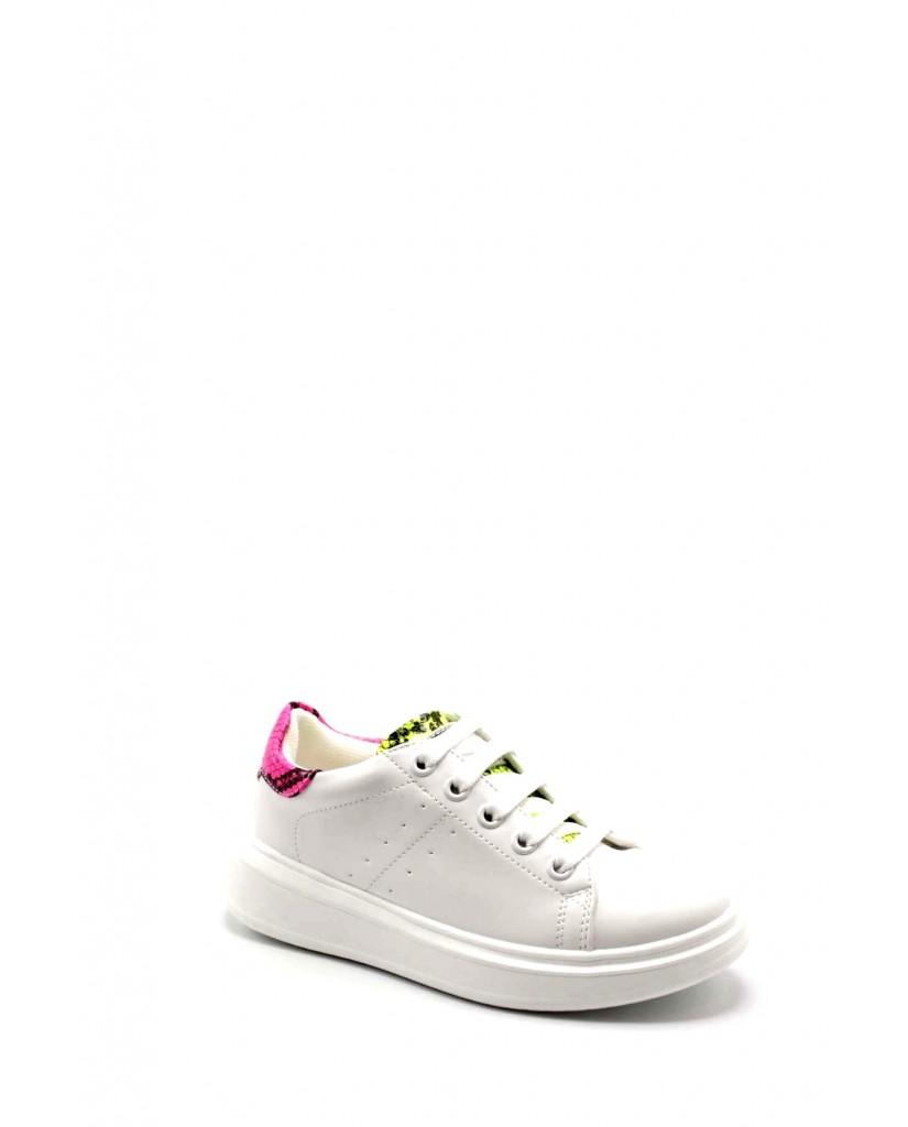 Balducci Sneakers F.gomma 30/36 bs1222 Bambino Bianco Fashion