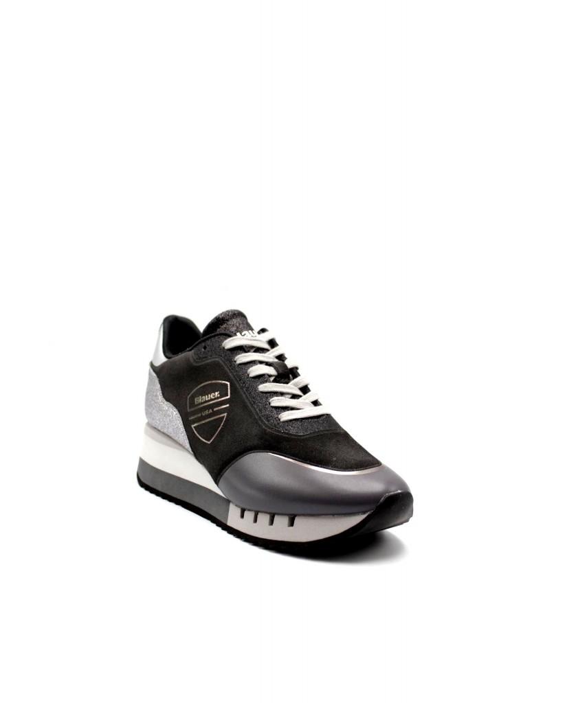 Blauer Sneakers F.gomma Charlotte08 Donna Grigio Fashion