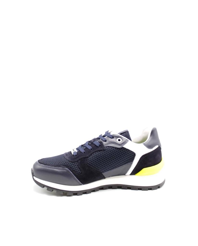 Ambitious Sneakers F.gomma 40-45 Uomo Blu Sportivo
