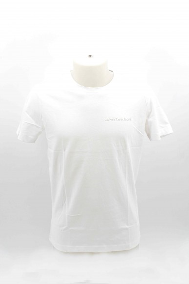 Calvin klein T-shirt Uomo Bianco Casual