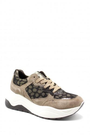 Igieco Sneakers F.gomma Dev 61683 Donna Marrone Casual
