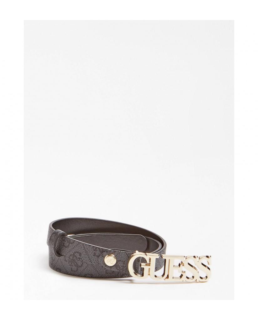 Guess Cinture   Bluebelle adjustable belt Donna Grigio Fashion