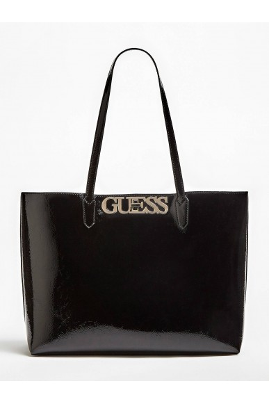 Guess Borse   Uptown chic barcelona tote Donna Nero Fashion