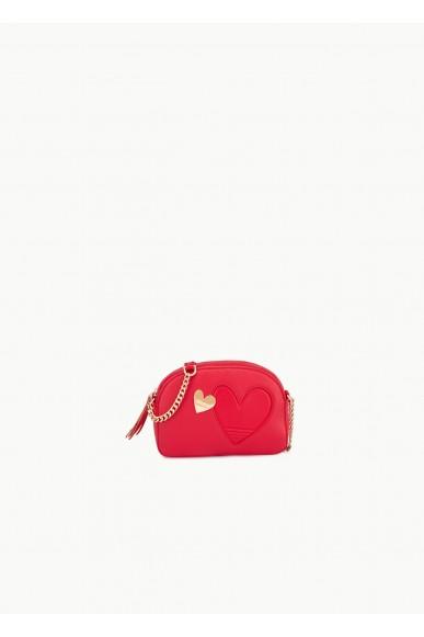 Liu.jo Tracolle Ecopelle Cross over Donna Rosso Fashion