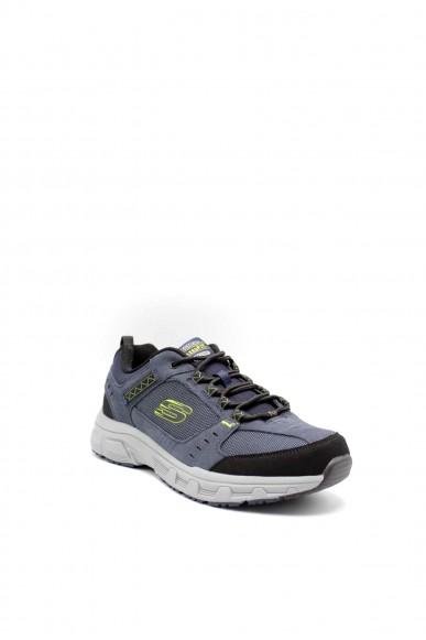 Skechers Sneakers F.gomma Oak canyon Uomo Blu Sportivo