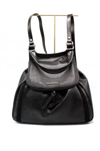Nero giardini Backpacks   T.glasbow metal nero t.vegetale met Donna Nero Fashion