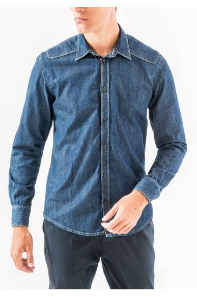 Antony morato Camicie   Long sleeved shirt Uomo Blu