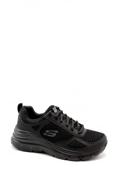 Skechers Sneakers F.gomma 36-41 13310 Donna Nero Casual