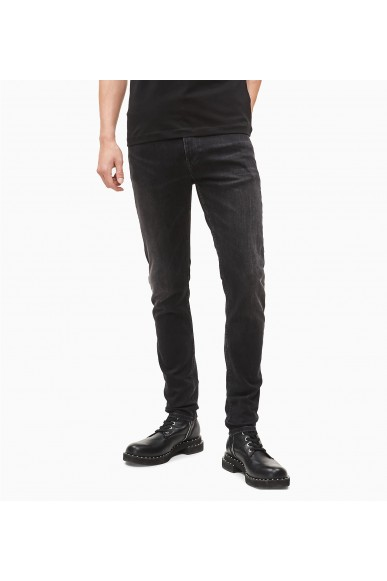 Calvin klein jeans Jeans   Ckj 016 skinny Uomo Nero Fashion