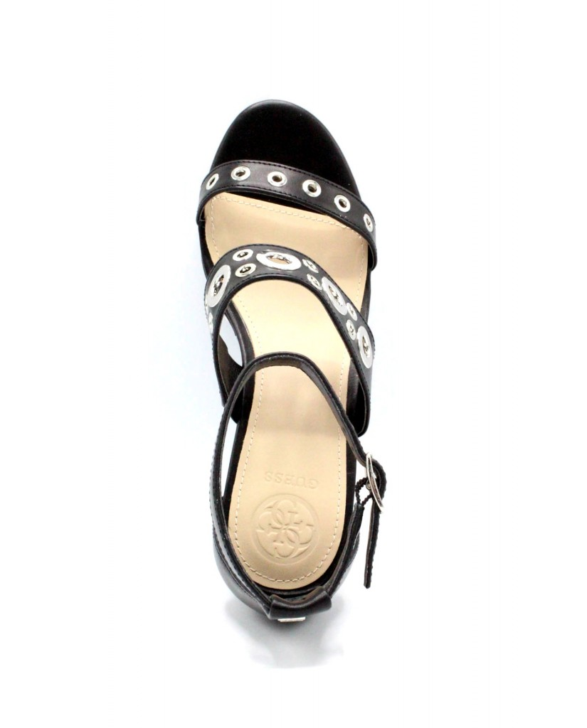 Guess Sandali   Niomi/sandalo (sandal)/leather Donna Nero Fashion