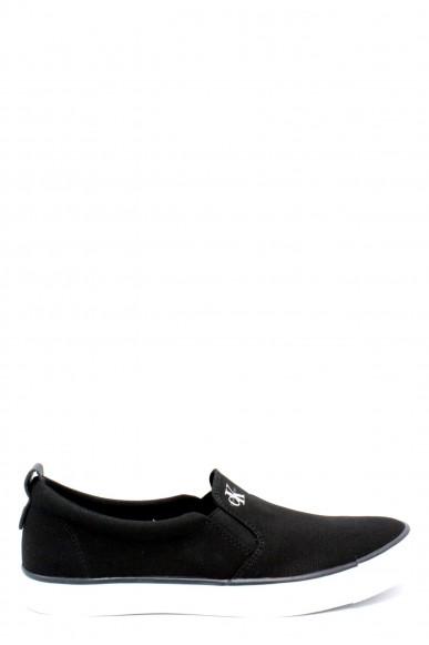 Calvin klein Slip-on F.gomma 40/45 s0370 ss18 Uomo Nero Fashion
