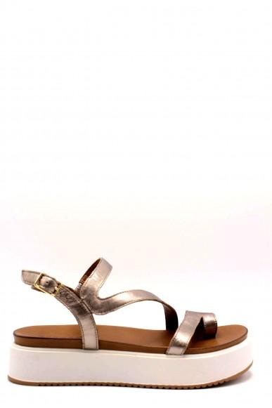 Inuovo Infradito 8716 sandali platform Donna Grigio