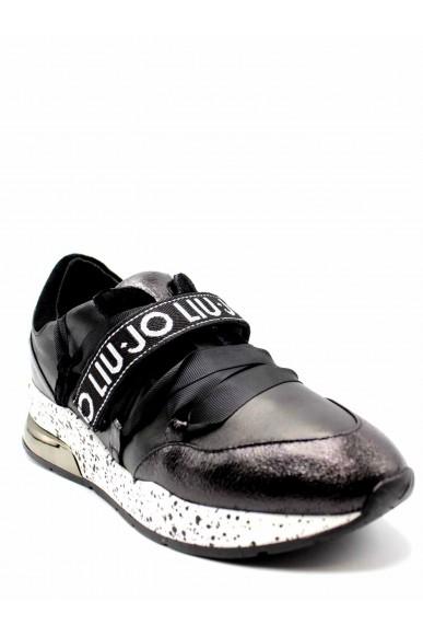 Liu.jo Sneakers F.gomma Karlie 03 - sneaker black/white/red Donna Nero Fashion