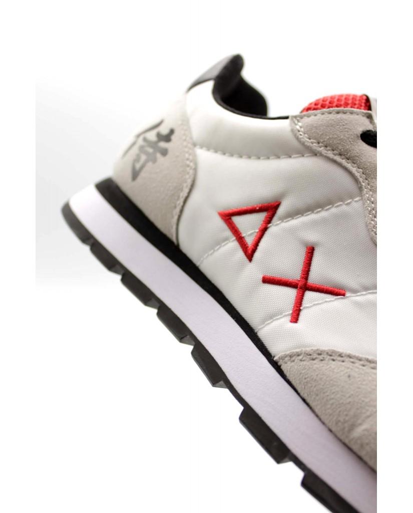 Sun68 Sneakers F.gomma 40-46 Uomo Bianco Sportivo