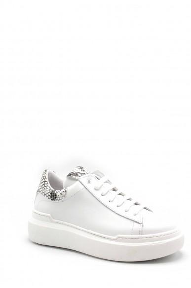 Nicole Sneakers F.gomma 7247 Donna Bianco Fashion