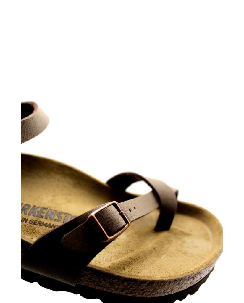Birkenstock Sandali F.gomma Taormina bi-classic Donna Marrone Fashion
