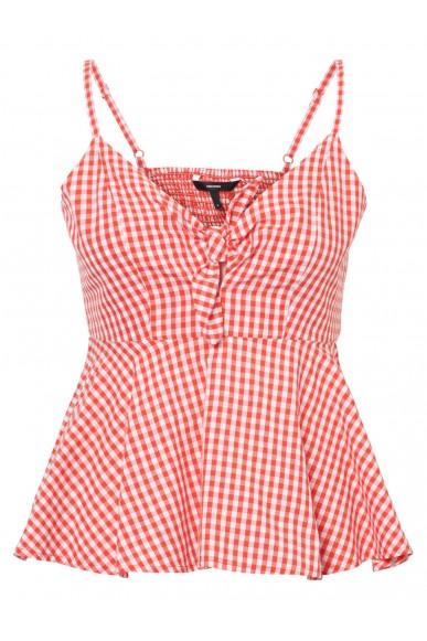 Vero moda Top Donna Rosso Casual