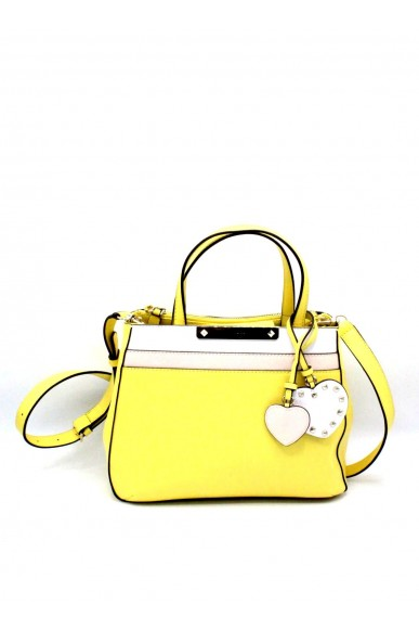 Guess Borse - Britta small society satchel Donna Giallo Fashion
