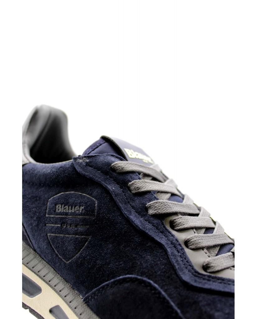 Blauer Sneakers F.gomma Hilo02 Uomo Blu Fashion