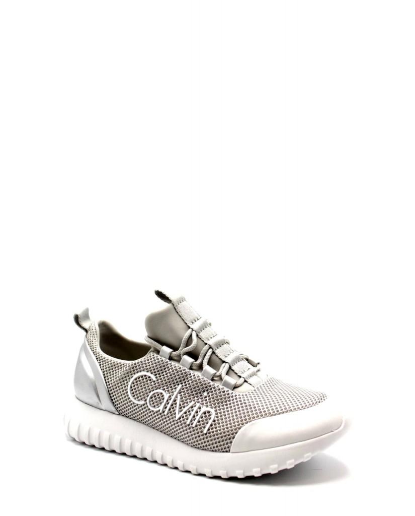 Calvin klein Sneakers F.gomma Reika metal Donna Argento Fashion