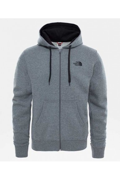 The north face Felpe   M open gate fz hd ur na/hi ri gr Uomo Grigio Casual