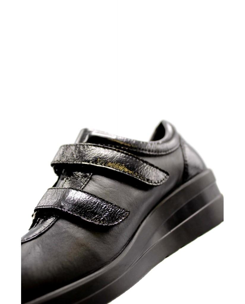 Cinzia soft Sneakers F.gomma Donna Nero Confort