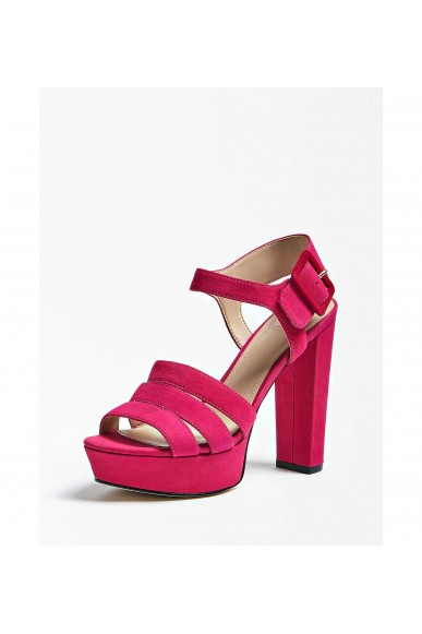 Guess Women's KarlieSandalo (Sandal)Leathe Open Toe Heels