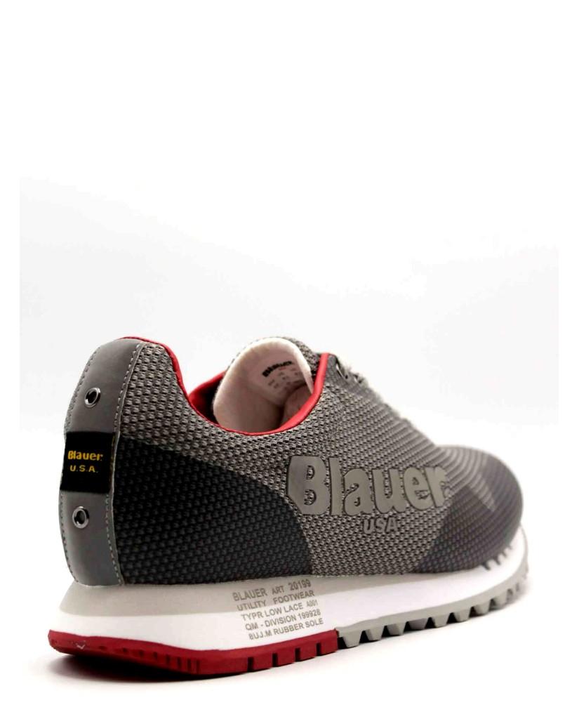 Blauer Sneakers F.gomma Denver01 Uomo Grigio Fashion
