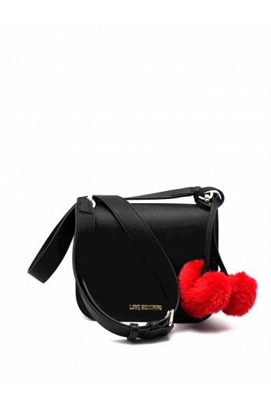 Moschino Tracolle   Borsa pin grain Donna Nero Fashion