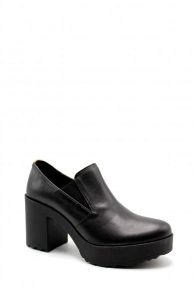 1^classe  Tronchetti F.gomma Scarpa plateaux h85 Donna Nero Fashion