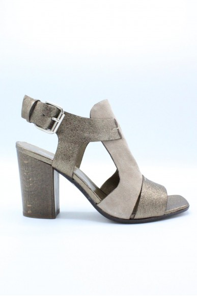 Progetto Sandali F.cuoio 36/39 Donna Bronzo Fashion
