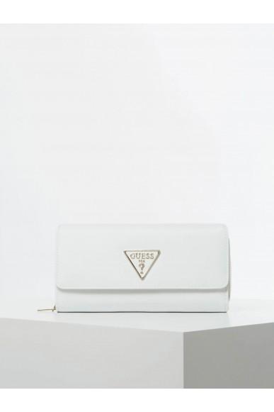 Guess Portafogli   Tangey slg lrg clutch orgnzr Donna Bianco Fashion