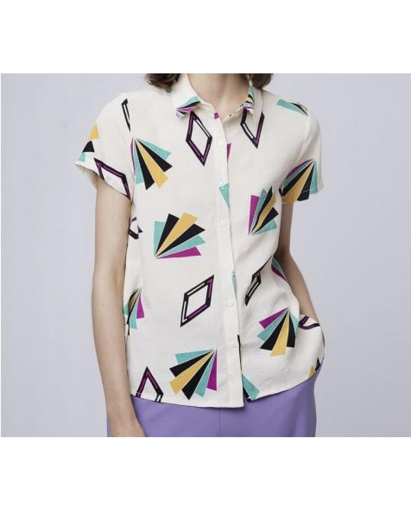 Compagnia fantastica Camicie   Donna Bianco Fashion
