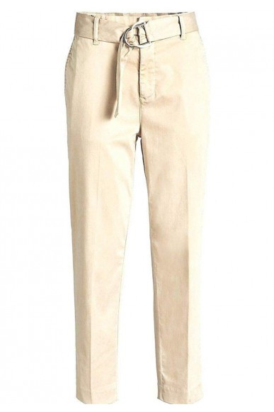 Guess Pantaloni   Hope high chino Donna Beige Fashion