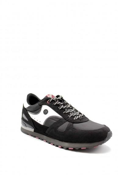 Navy sail Sneakers F.gomma Nsm023001 Uomo Nero Casual