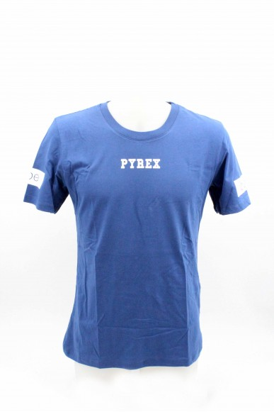 Pyrex T-shirt   Unisex Blu denim Fashion