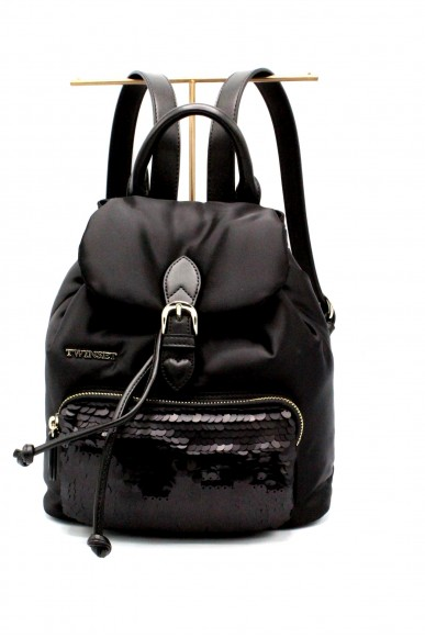 Twin set Backpacks - Zaino piccolo Donna Nero Fashion