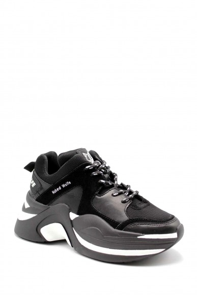 Naked wolfe Sneakers F.gomma 35/40 Donna Nero Fashion