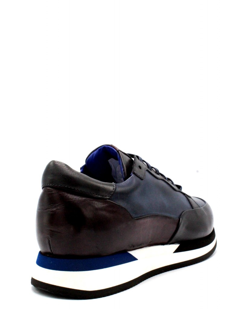 Brecos Sneakers F.gomma 40-45 made in italy Uomo Grigio Fashion